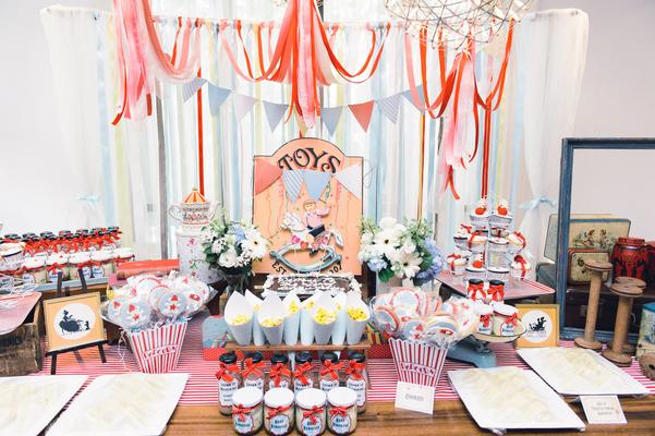Party Interior Design Meal Banquet Baby Shower