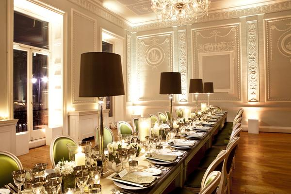Room Dining Function Hall Meal Interior Design